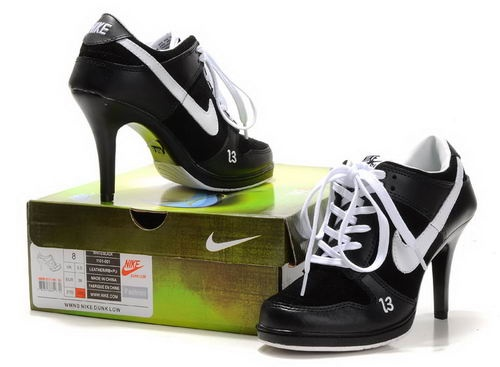 Nike High Heel 2011 Black/White,Nike High Heels,High Heel Shoes,Cheap Nike Dunks,Nike Dunk High Tops