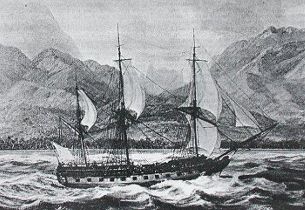 La Boussole (Brújula).barco de laperouse..en vanikoro.