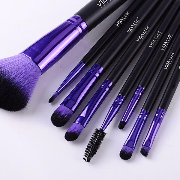 'Purple Beauty' Brush Collection - Vida Lux