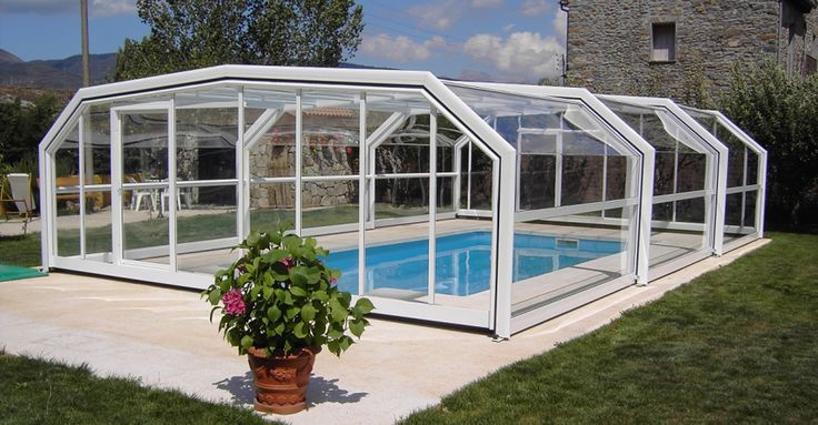25 best images about pool enclosures on pinterest - Outdoor swimming pool enclosures uk ...
