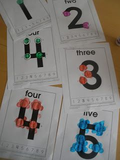 Little Adventures Preschool: Touch Math, Hidden Letters/Words and Sequencing
