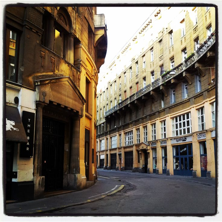 Anker street - Budapest
