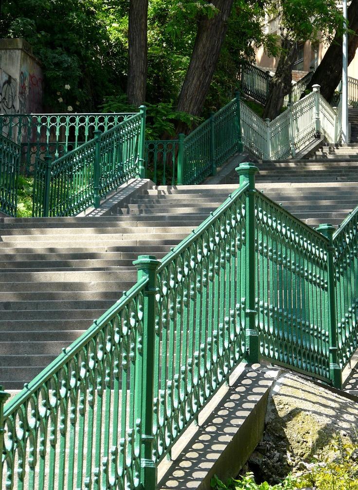 Prague; Nuselské schody (Nusle Steps)