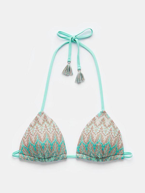 triangel top aqua #findyourwild