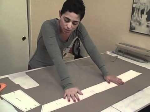 how to make an obi belt. Simple tutorial.