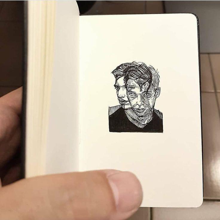 Mini sketches ✏️ by @alberto_sting ___________…