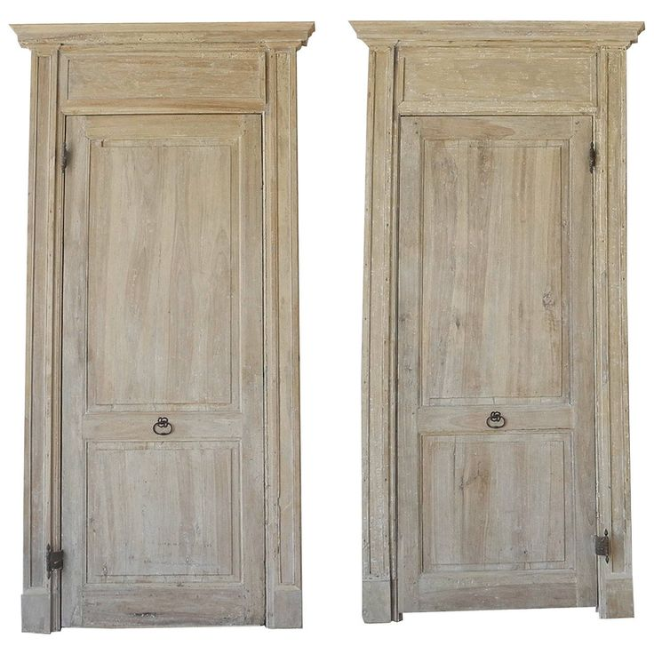 Pair of Antique 18th Century Doors with Frame