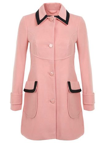 1000  images about Pink Coats on Pinterest | Single breasted