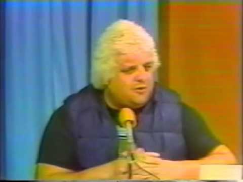 CWF Kevin Sullivan Throws fireball into Dusty Rhodes Face