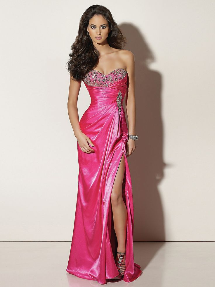 Mejores 851 imágenes de Evening Dresses en Pinterest | Vestidos de ...