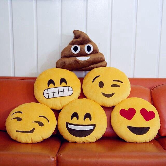emoji pillows !