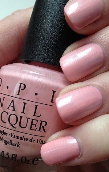 """OPI pink polish """"italian love affair"""" perfect for spring and summer nails #OPI #nails #pinknails #nailpolish"""