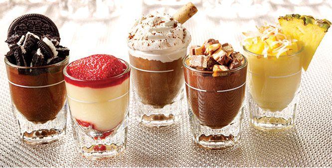 Mini Dessert Shooters