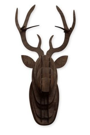 Buy Lit Wall Moose Head from the Next UK online shop