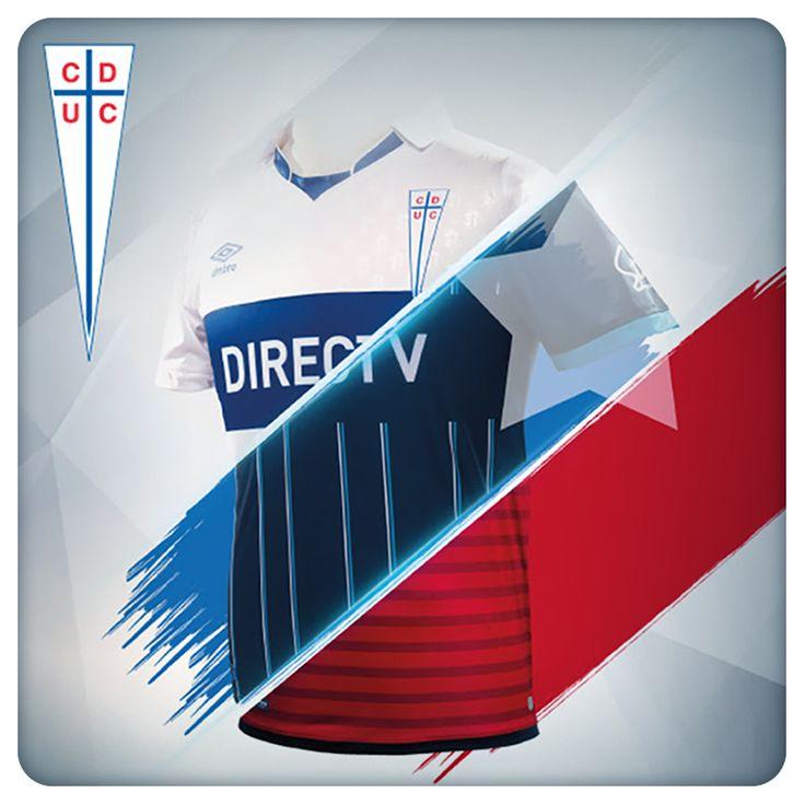 3 Camisetas Futbol Universidad Católica de Chile | Temporada 2015 | #UC #LosCruzados #Design #TShirts #Poleras #Fútbol