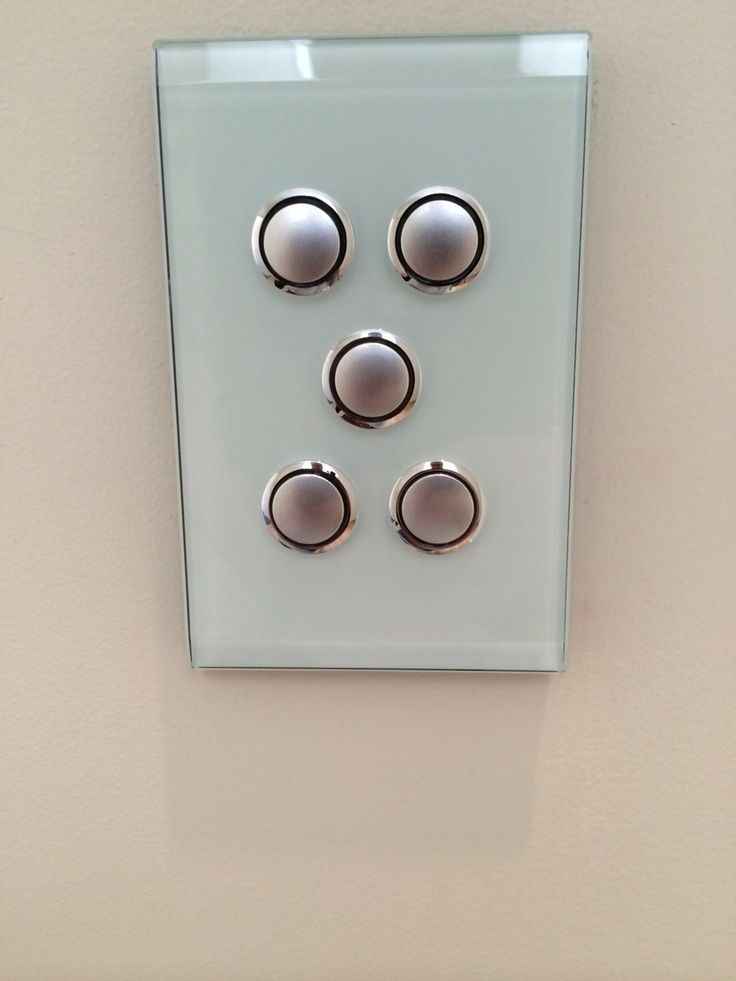 Push in light switches