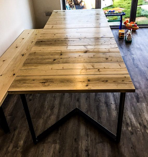 A Handmade Table With Real Rustic Charm That Finds Beauty In