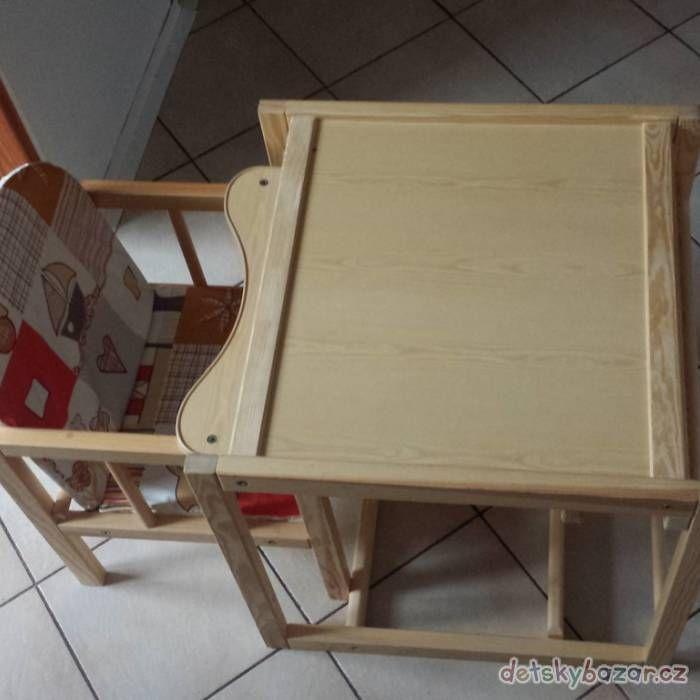 Dřevěná jídelní židlička z bazaru za 600 Kč | Detskybazar.cz