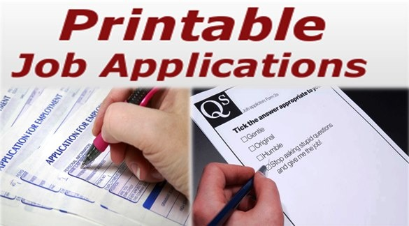 25  best ideas about printable job applications on