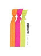 Womens **Popband Neon Hair Ties Pack of 3- Green
