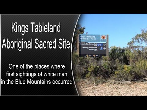 Kings Tableland - Aboriginal Sacred Site - Blue Mountains National Park - YouTube