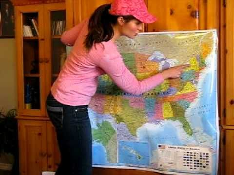 50 states song in geographical order. My kids and I had so much fun learning this song, and now we can easily find any state.