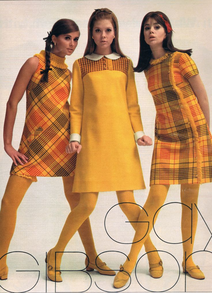 Seventeen 1967. Regine Jaffrey, Terry Reno and Colleen Corby.