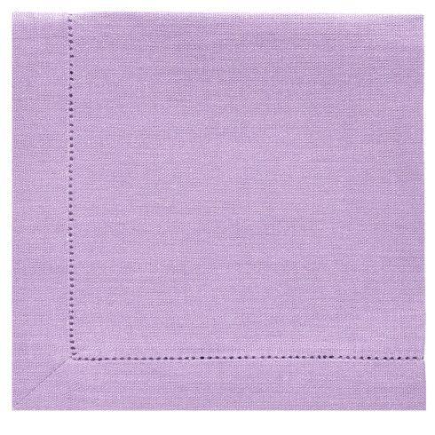 NAPKIN lavender lilac by ZIZI 100% linen linen lavender lilac hemstitch  natural dinner tablecloth napkin scandinavian design tallinn e\u2026