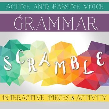 practice recognizing active and passive voice with these interactive notebook pieces and grammar. Black Bedroom Furniture Sets. Home Design Ideas