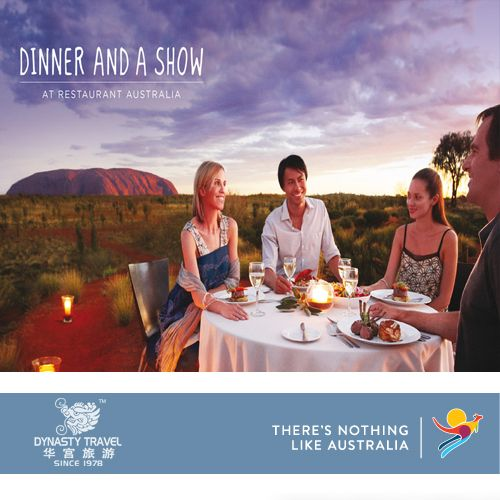 Never a Better Time to Visit Australia than Now! Click here to check out Dynasty's Exclusive Australia packages:  http://bit.ly/Australiaherewecome Stand a chance to WIN back your holiday* when you book a Australia group tour holiday with Dynasty Travel! Click here for more details:  http://australia.dynastytravel.com.sg/ Signing off Agent Dee Xoxo *Terms and conditions apply