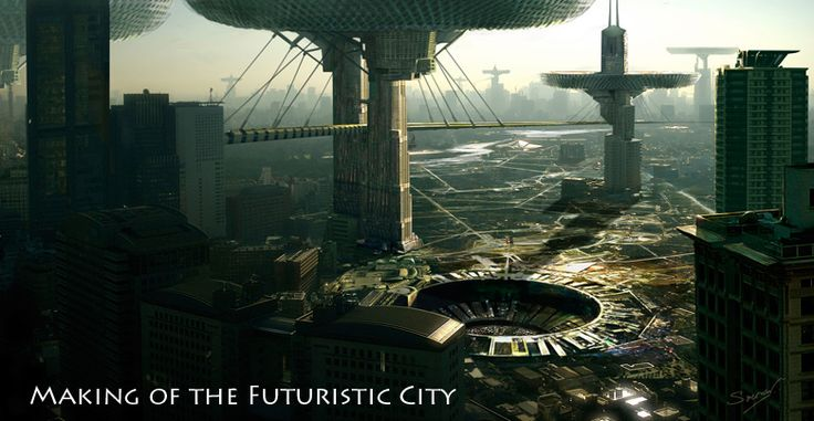 making of the futuristic city    http://www.cgarena.com/freestuff/tutorials/photoshop/futuristic-city/fcity.html#