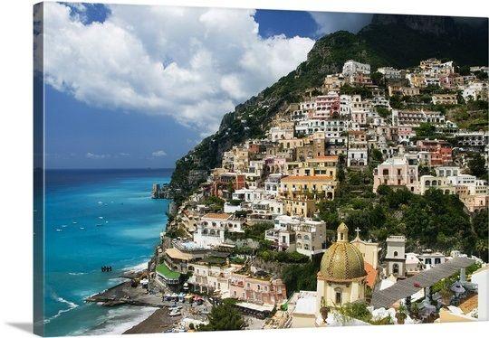 Italy, Campania, Peninsula of Sorrento, Amalfi Coast, Salerno district