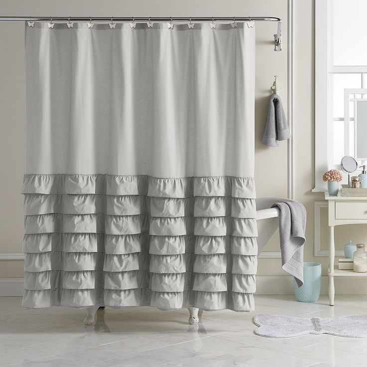 Best 25+ Fabric shower curtains ideas on Pinterest | Extra long ...