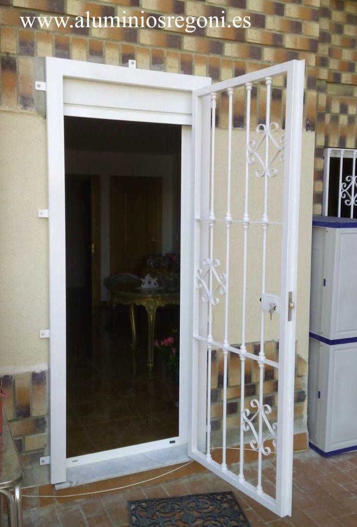 M s de 1000 ideas sobre puerta reja en pinterest rejas for Ventanales tipo puerta