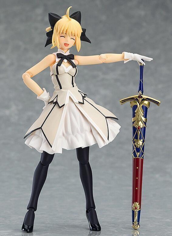 Anime Fate//Grand Order Saber//Altria Pendragon Lily 1//7 PVC Figure New Toy IN Box