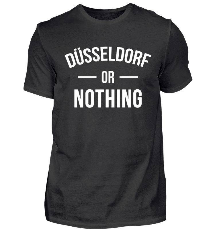 Düsseldorf Stadt NRW Spruch Geschenk T-Shirt