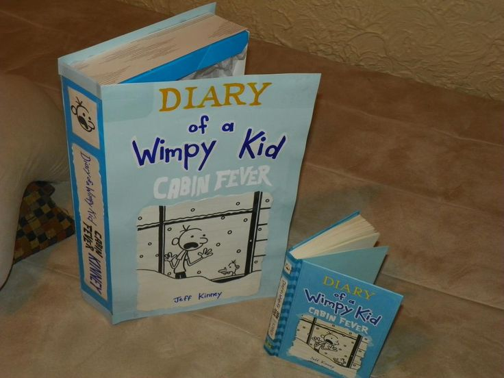 Diary of a wimpy kid cereal box book report