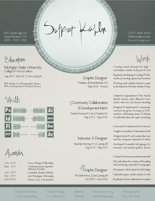90 best Designer Resumes Business Cards images on Pinterest - graphic design resume samples pdf