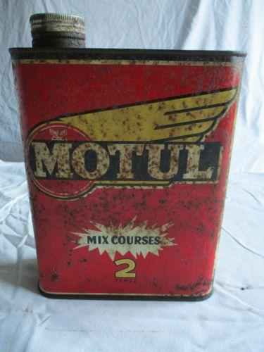 bidon d huile moteur ancien motul old tins etc