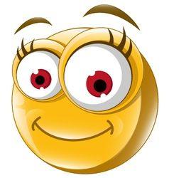 Happy smiley face vector