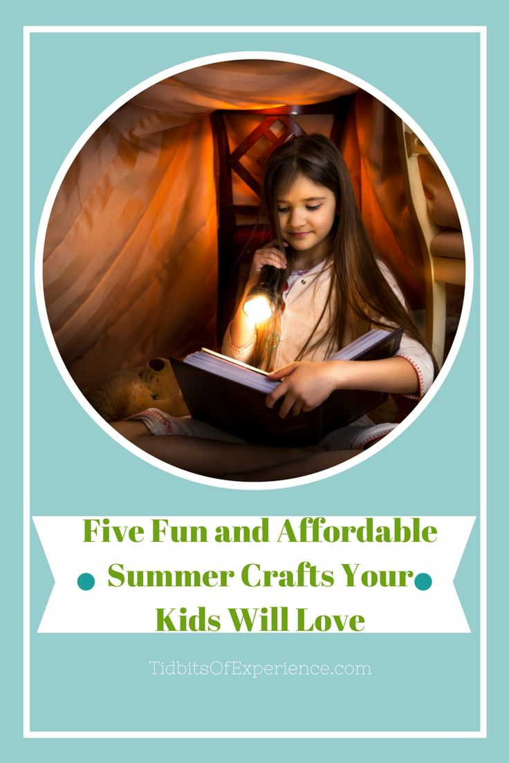 Five Fun and Affordable Summer Crafts Your Kids Will Love - http://www.tidbitsofexperience.com/five-fun-and-affordable-summer-crafts-your-kids-will-love/http://www.tidbitsofexperience.com/wp-content/uploads/2015/05/TidbitsOfExperience.com-4-640x960.png Once summer starts, keeping your children entertained can be tough, no matter how patient and creative you are. When the weather prevents you from sending your kids to the yard, park, or nearest pool, keeping yourself sane can