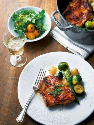 【ELLE a table】鶏肉と野菜のオーブン焼きレシピ|エル・オンライン