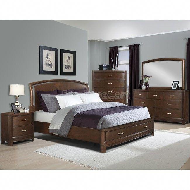 Eclipse Storage Bedroom Set Cheapfurniturestores Con Imagenes