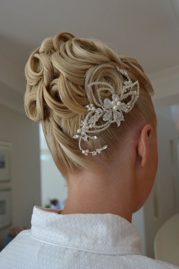 #Smooth Ballroom Hair #Updo #dancesport