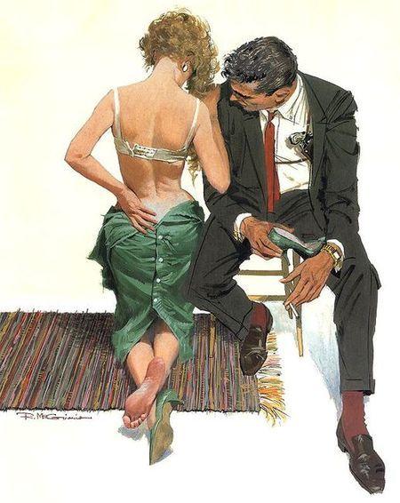 Robert McGinnis 1926 | American illustrator | TuttArt@ | Pittura * Scultura * Poesia * Musica |