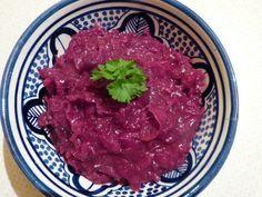 Rotkraut - Repolho roxo Alemão