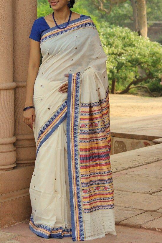 Beautiful Orissa Saree from HandsofIndia.com