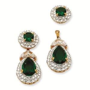 First Lady Drop Earrings - Jacqueline Kennedy Jewelry