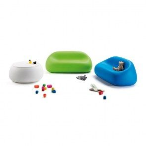 Gumball junior sofa in the favourite colours of kids