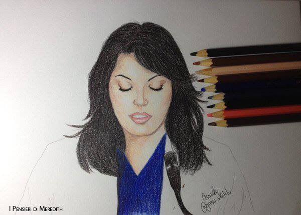 Meredith. Callie